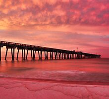 Panama City Pier by Chris Ferrell