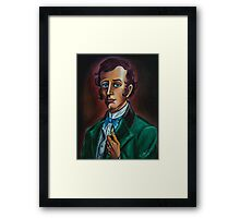 Mr. William Gracey from Gracey Mannor. Drawn by Topher Adam Framed Print