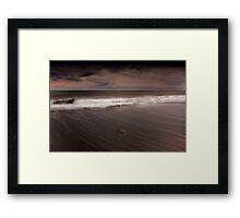 Pebble Beach - Cork Ireland Framed Print