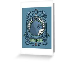 Forest Spirit Nouveau Greeting Card