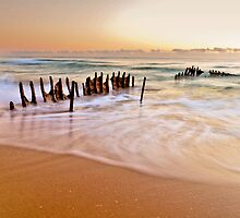 Morning at the Beach by Kate Wall