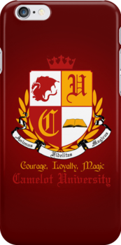 Camelot University (Iphone Case) by KitsuneDesigns