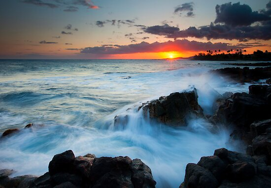 Paradise Sunset by DawsonImages