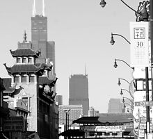 Chicago's Chinatown by William Dyckman