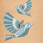 Geometric flight by hwiddy