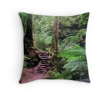 Welcome To My Forest Throw Pillow