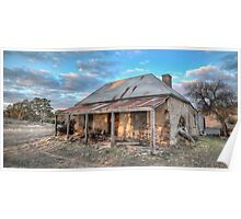 Country Side Ruin Poster