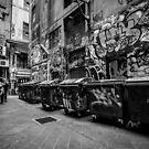 Melbourne streetart 1 by drsteve