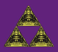 All Seeing Tri-Force v2 by 1up Apparel