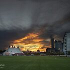 Perth CBD, Sunset by Michael Hyndman