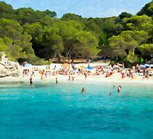 Minorca- Cala Turqueta one by oreundici