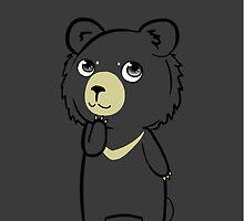Moon Bear by hoshi-kou