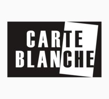 Carte Blanche Stickers and T-Shirt by horsbra
