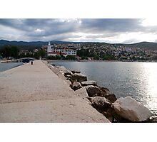 adriatic sea croatia Photographic Print