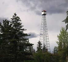 """""""  Fire Lookout Tower  """" by fortner"""