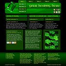Emerald Isle - Web Design by Darcy Overland