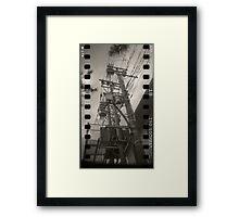 Transmission Framed Print