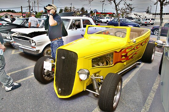 Yellow Chevy by Brandon Taylor