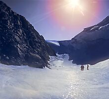 Wind Scour at Fang Peak by Peter Hammer