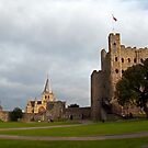 Castle & Cathedral by mikebov