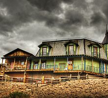 Goldfield Ghost Town  by Saija  Lehtonen