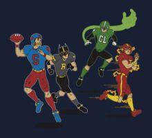 Superhero Football Kids Clothes