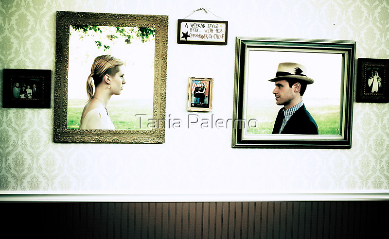 She was sure he would blink first. by Tania Palermo