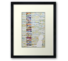 The long weight Framed Print