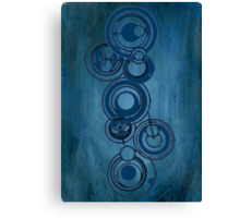 Gallifreyan Graffiti Canvas Print