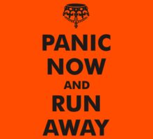 Panic Now & Run Away Kids Clothes