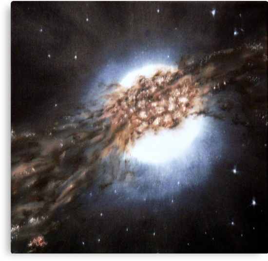 Centaurus A - Galaxy Cannibalism by Nicla Rossini