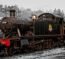 5526 On Shed by David J Knight