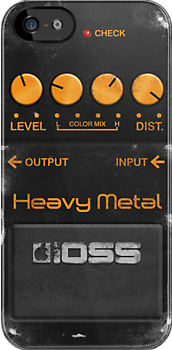 Boss Heavy Metal Pedal  by Alisdair Binning