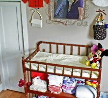 Smooch in the nursery by Nicole  McKinney