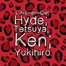 Leopard ♥ L'Arc~en~Ciel by KanaHyde