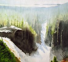 Aguasabon Falls by Douglas Hunt