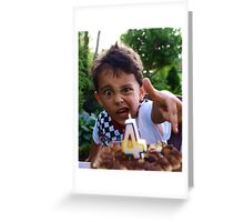 Light the birthday candle!!!!!!!!!!!!!!!!!!!!! Greeting Card