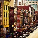 Above Chinatown - New York City by Vivienne Gucwa