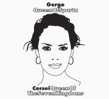 Lena Headey: Cersei and Gorgo by D4RK0