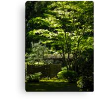 japanese gardens 2 Canvas Print