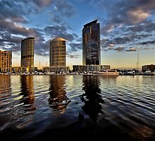 North Wharf - Docklands by Paul Louis Villani