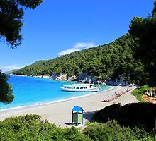 Kastani Beach - Skopelos by Honor Kyne