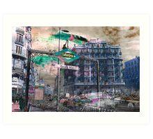 Memories of Spain 12 - Gran Via of Madrid Art Print