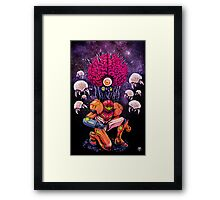 Mother Brain Framed Print