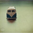 VW Camper van by Paisleypatches