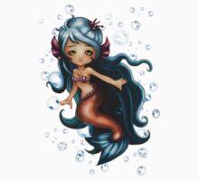 Saphire Mermaid by MagnoliasDragon