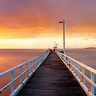 Point Lonsdale Pier, Victoria, Australia by Michael Boniwell
