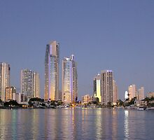 Dusk on the Gold Coast by Kathie Nichols
