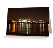 London Olympics Millenium Dome Greeting Card