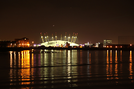 London Olympics Millenium Dome by Jane McDougall